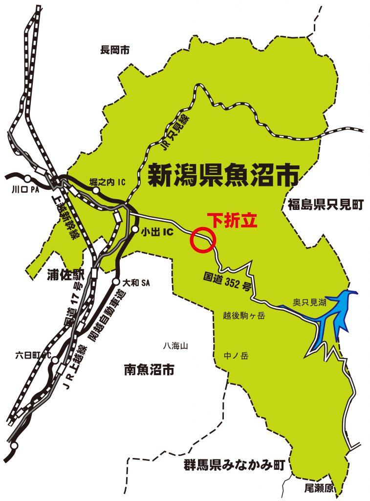 関越自動車道 地図